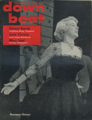 Down Beat - December 12, 1957 - Rosemary Clooney