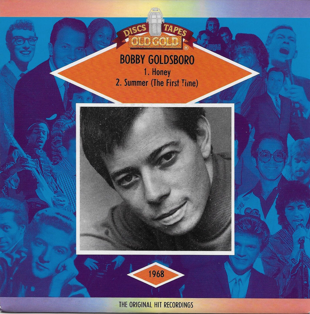 Bobby Goldsboro - Honey / Summer (The First Time) w/ PS