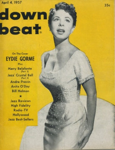 Down Beat - April 4, 1957 - Edie Gorme
