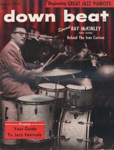 Down Beat - Ray McKinley in Russia / Jun 13, 1957/