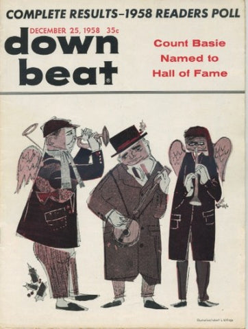 Down Beat - December 25, 1958 - 1958 Readers Poll