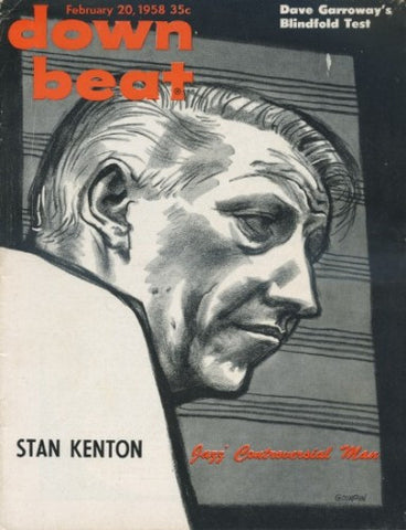 Down Beat - Feb 20, 1958 / Stan Kenton