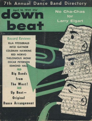 Down Beat - April 16, 1959 - 7th Annual Dance Band Directory