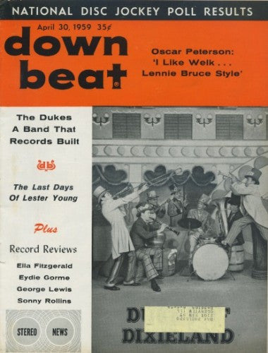 Down Beat - April 30, 1959 - Dukes of Dixieland