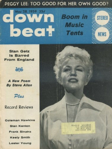 Down Beat - May 28, 1959/ Peggy Lee