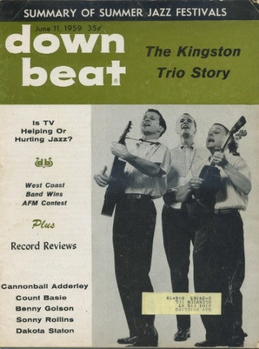 Down Beat - June 11, 1959 / Kingston Trio