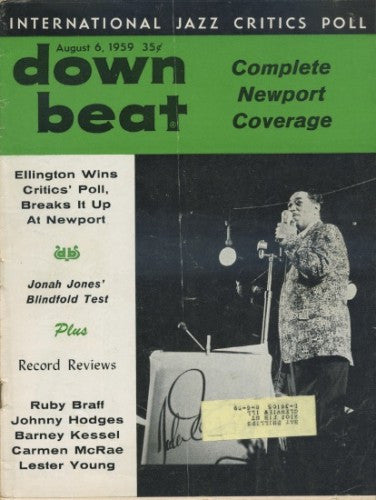 Down Beat - August 6, 1959 - Duke Ellington