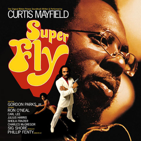 Curtis Mayfield - Superfly - Limited editions RED Vinyl (SYEOR)