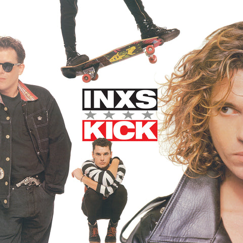 INXS - Kick on limited edition GREEN vinyl - Rocktober series