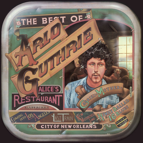 Arlo Guthrie - Best of Arlo Guthrie - on colored vinyl!