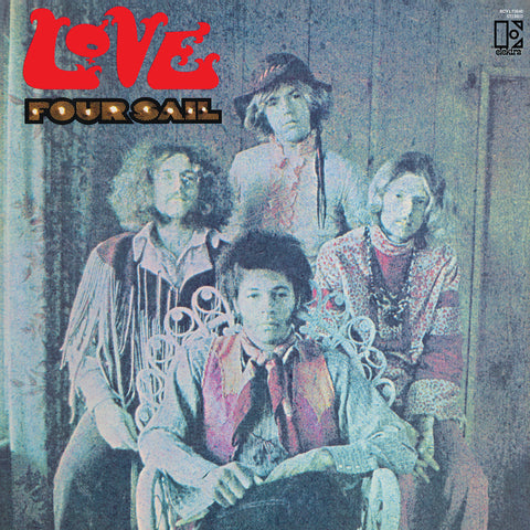Love - Four Sail - on limited green vinyl