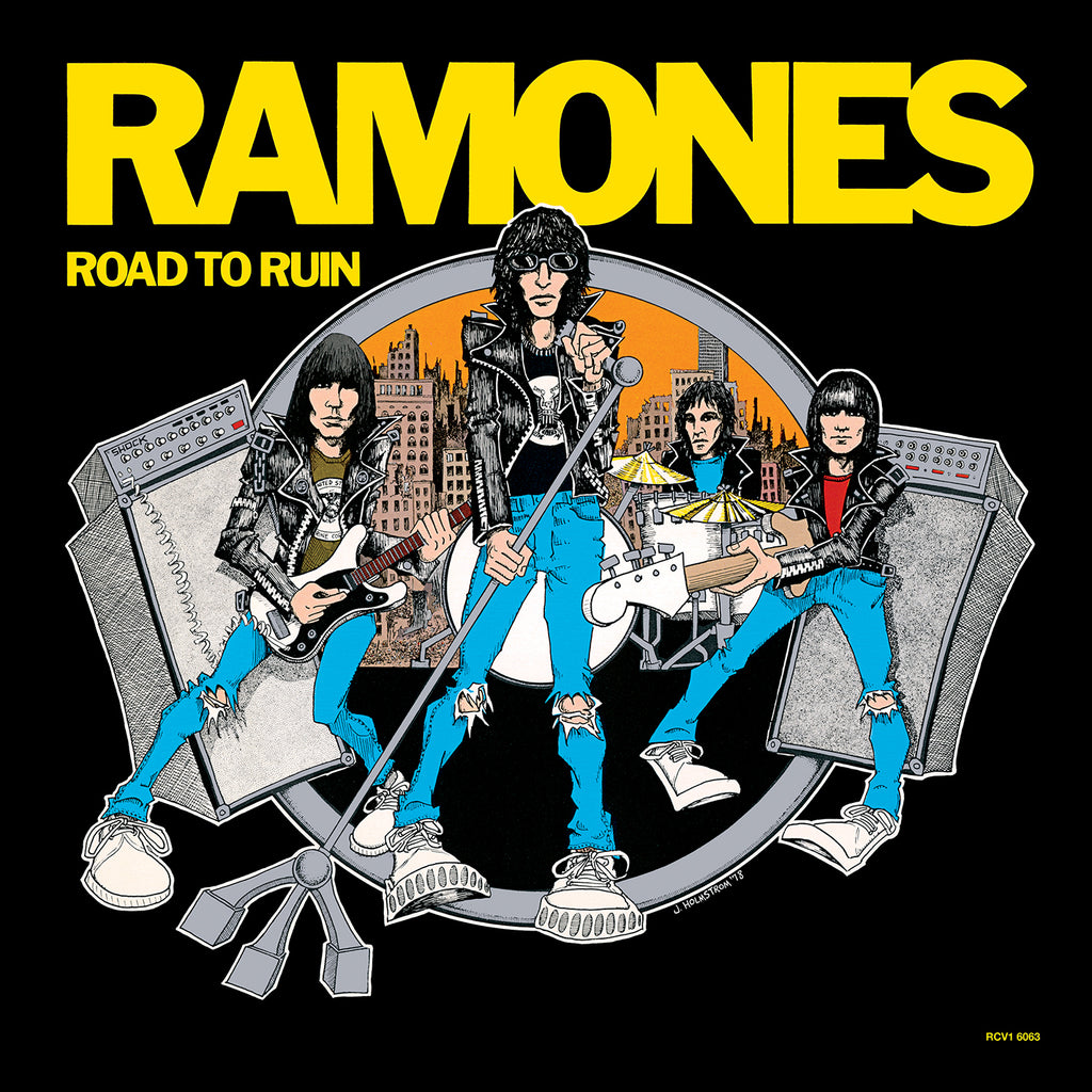 Ramones - Road to Ruin - Limited BLUE vinyl! SYEOR