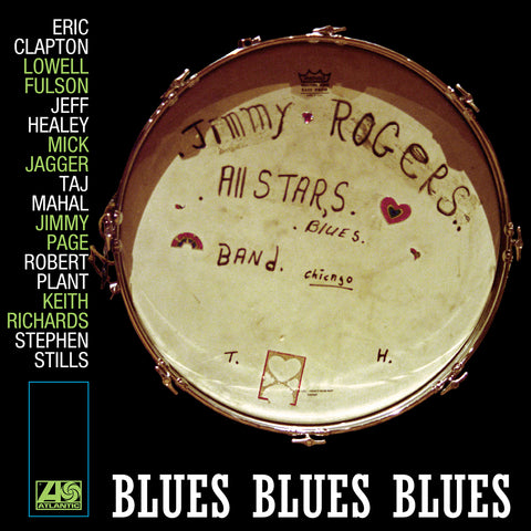 Jimmy Rogers - Blues Blues - 2 LP set - FIRST Time on LP - Clapton, Page, Richards...