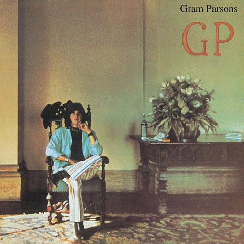 "Gram Parsons debut solo album - GP - Remastered! w/ bonus 7""Super Limited!!"