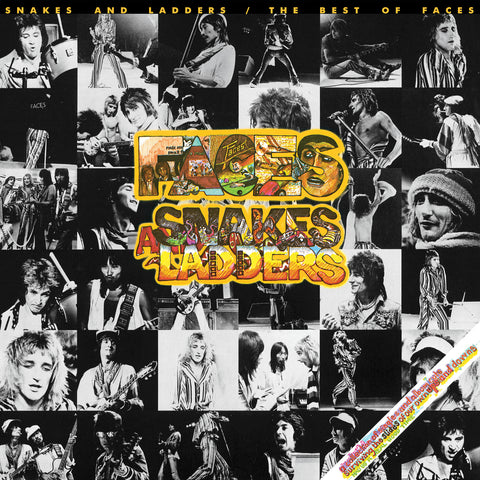 Faces - Snakes & Ladders; Best of - Limited Edition COLORED vinyl