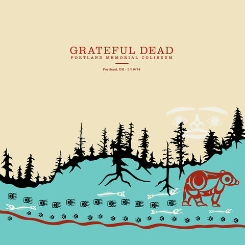 Grateful Dead Live in Portland OR 1974 - 6 LP box 180g