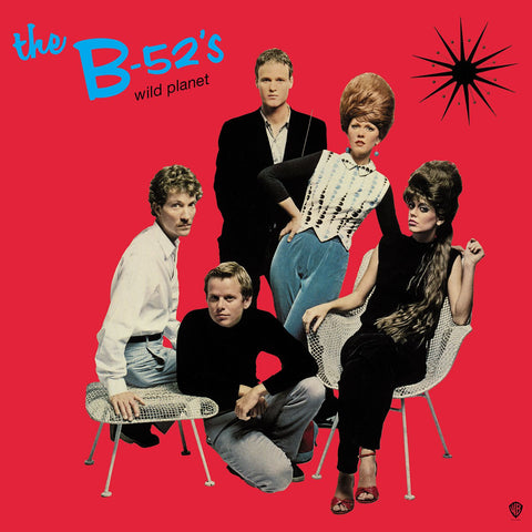 B-52s - Wild Planet Limited Edition RED VINYL
