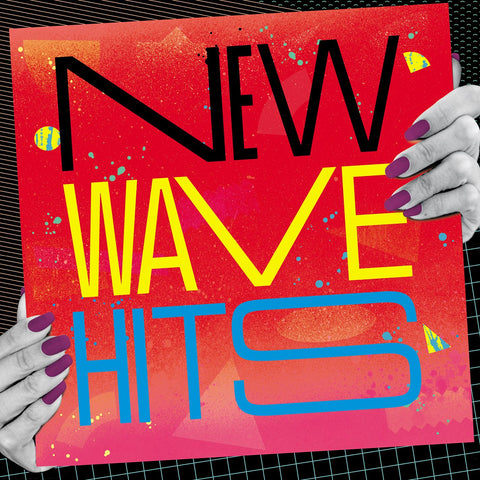 New Wave Hits - Various 80s Artists - on ltd ed Colored vinyl