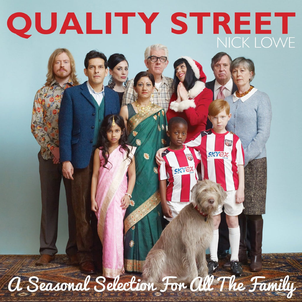 Nick Lowe - Quality Street: A Seasonal Selection Holiday hits + CD
