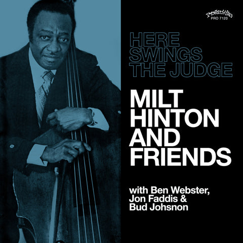 Milt Hinton - Here Swings the Judge - w/ Ben Webster, Jon Faddis, etc
