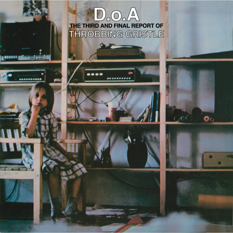 Throbbing Gristle - DOA - Green Vinyl w/ download & bonus tracks