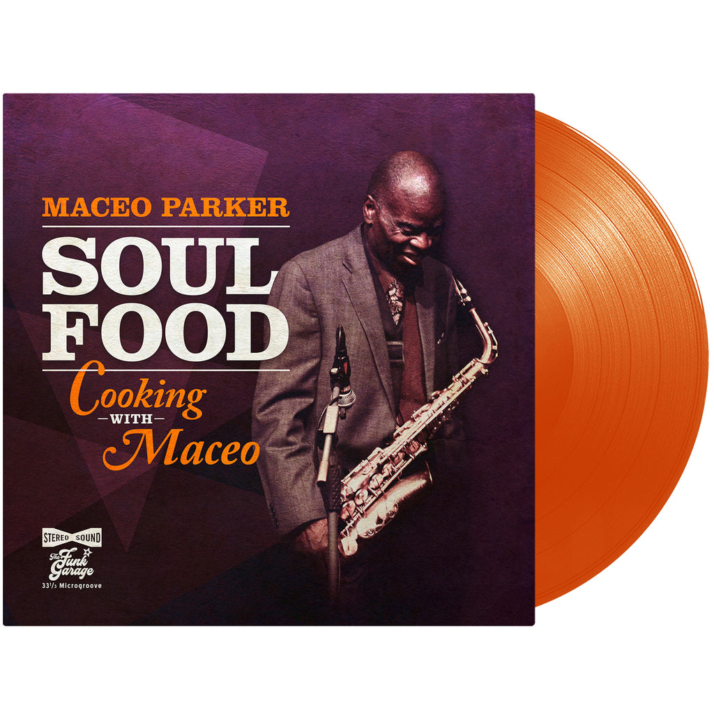 Maceo Parker - Soul Food-Cooking With Maceo - LTD colored vinyl