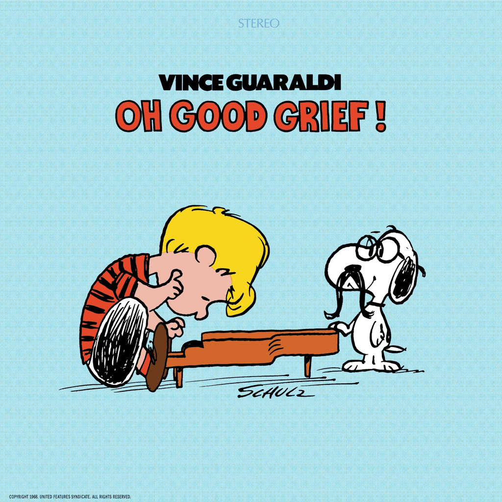 Vince Guaraldi - Oh Good Grief! Limited Colored VINYL LP 50th Anniversary Ed