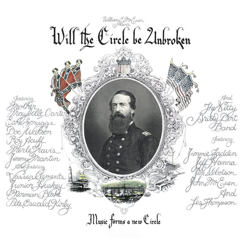 Nitty Gritty Dirt Band - and Friends - Will the Circle Be Unbroken 3 LP set