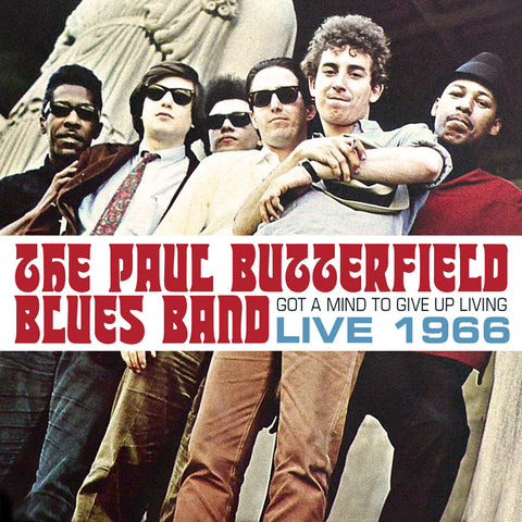 Butterfield Blues Band Live 1966 - Limited Edition 2LP set on Colored vinyl!
