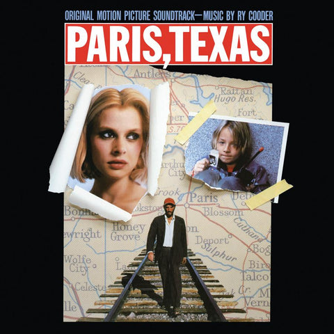 Ry Cooder - Paris, Texas Soundtrack - Super Limited CLEAR Vinyl