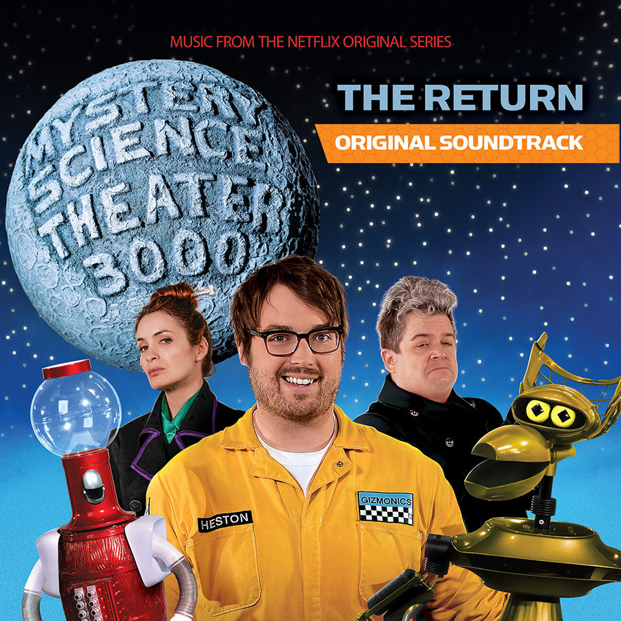 Mystery Science Theater 3000:The Return: Soundtrack - on colored vinyl