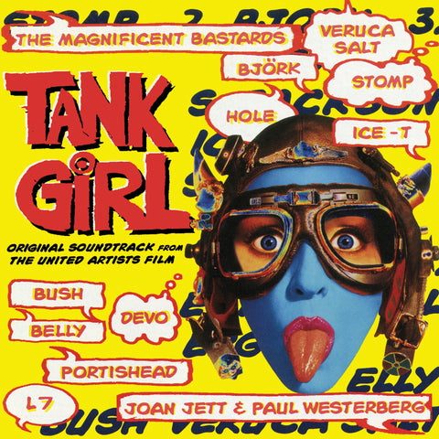 Tank Girl: Original Soundtrack - Limited Aqua Blue Vinyl edition