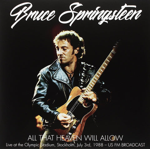 Bruce Springsteen - All That Heaven Will Allow 2 LP import LIVE 1988
