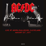 AC/DC - Live at Agora Ballroom, Cleveland - import 180g colored vinyl Live in '77