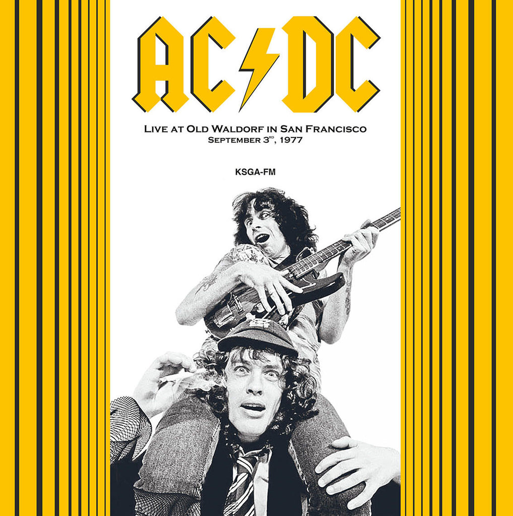 AC / DC - Live at Old Waldorf 1977 - 180g Import