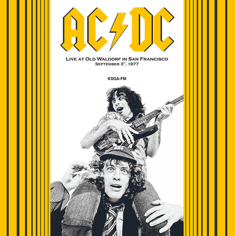 AC / DC - Live at Old Waldorf 1977 - 180g Import colour vinyl
