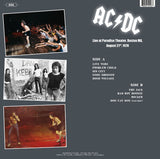 AC/DC - Live at Paradise Theater Boston - import 180g LP Live in '78