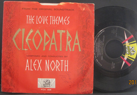 Alex North - Caesar and Cleopatra Theme b/w Anthony and Cleopatra Theme  PS