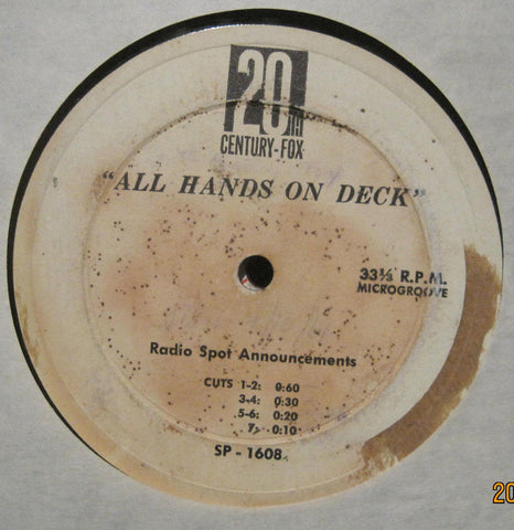"Radio Commercial - 20th Century Fox Movie Musical ""All Hands on Deck"""