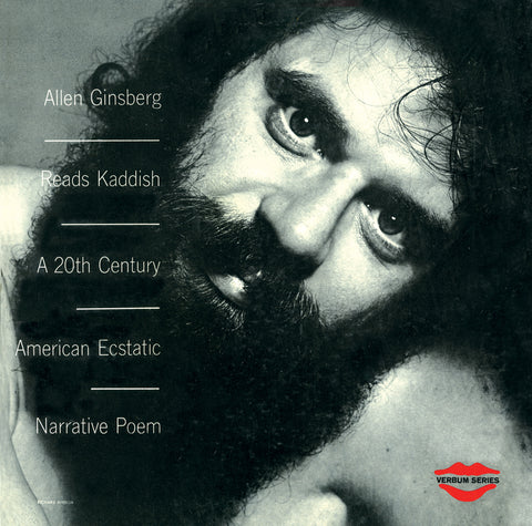 Allen Ginsberg - Reads Kaddish Narrative Poem - limited on Red vinyl