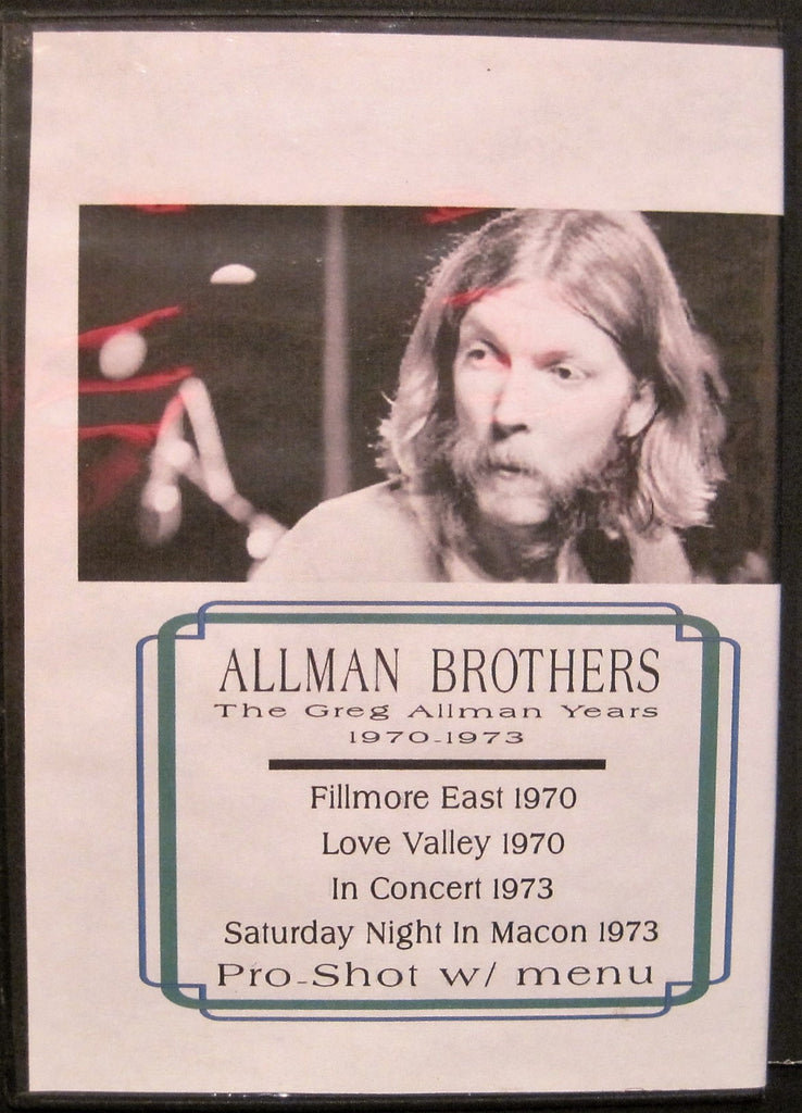 Allman Brothers Band - Greg Allman Years 1970-73