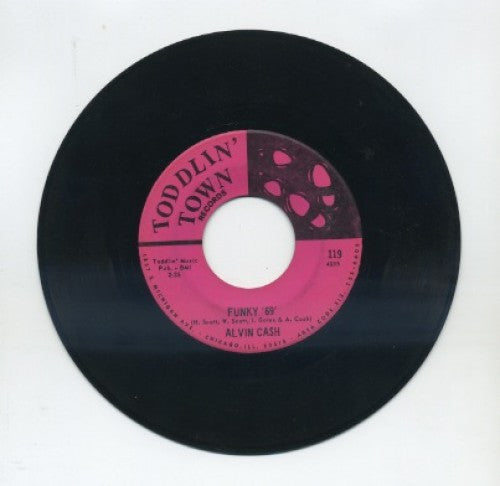 Alvin Cash - Funky '69'/ Moaning And Groaning