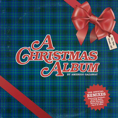 Various - Amerigo Gazaway Christmas - LTD RED vinyl