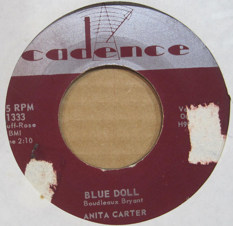 Anita Carter - Blue Doll b/w Go Away Johnnie