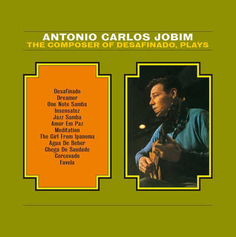 Antonio Carlos Jobim - The Composer Plays -import 180g