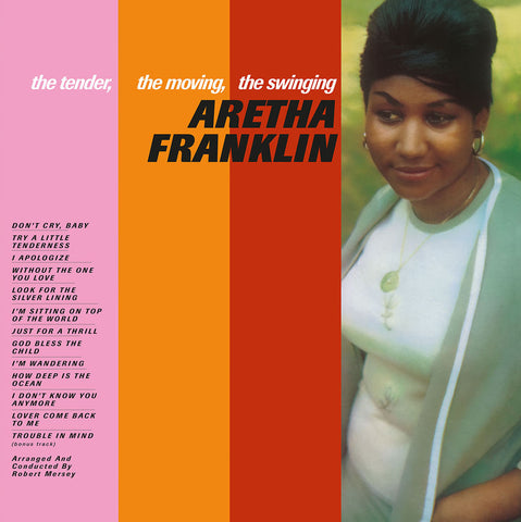Aretha Frankllin - The Tender, The Moving, The Swinging - import 180g LP