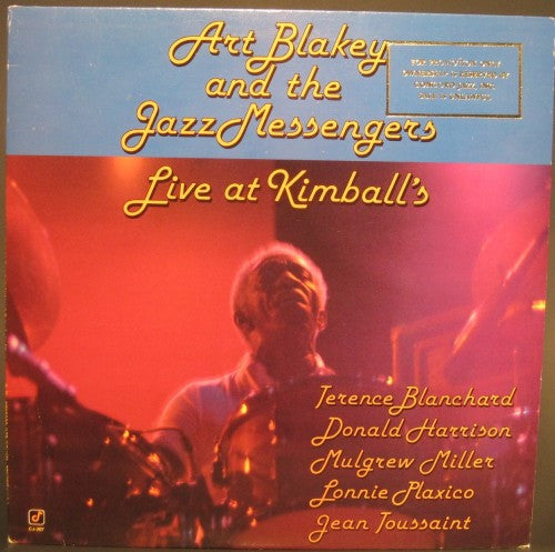 Art Blakey and the Jazz Messengers - Live at Kimball's