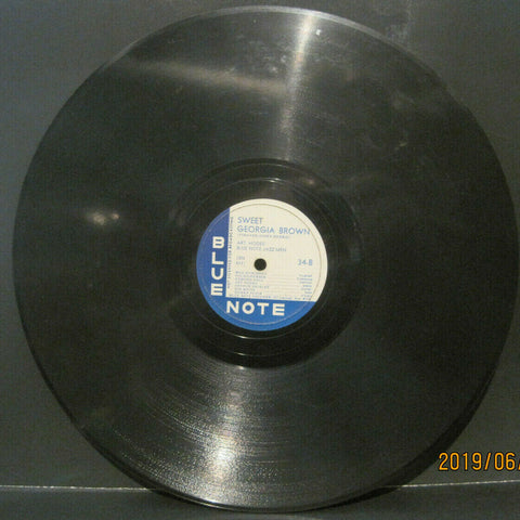 Art Hodes' Blue Note Jazzmen - Sugar Foot Stomp b/w Sweet Georgia Brown