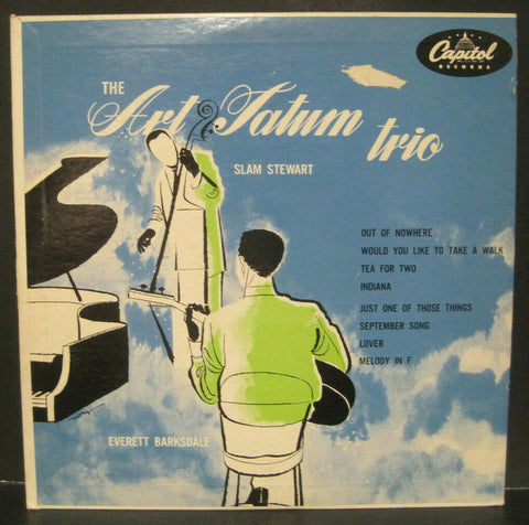 "Art Tatum Trio with Slam Stewart 10"" Lp"
