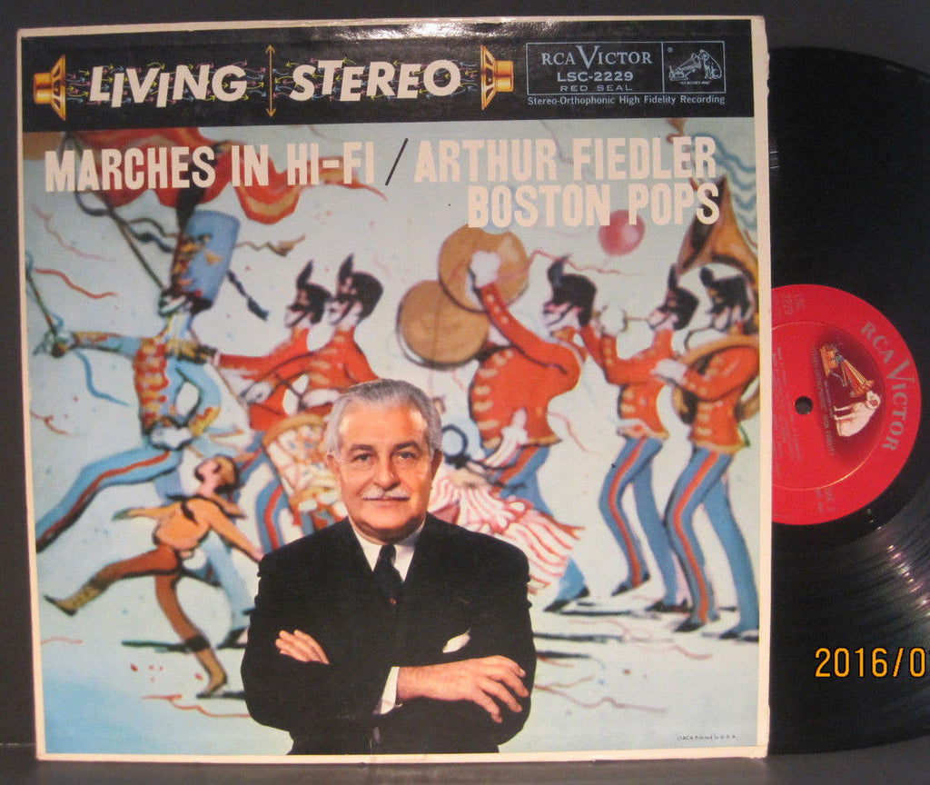 "Arthur Fiedler & Boston Pops ""Marches in Hi-Fi"""